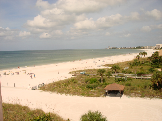 Crescent Beach & the Gulf of Mexico